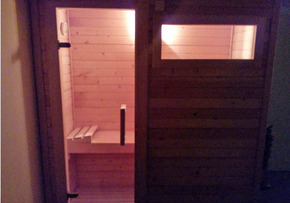 Sauna y masaje personalizado