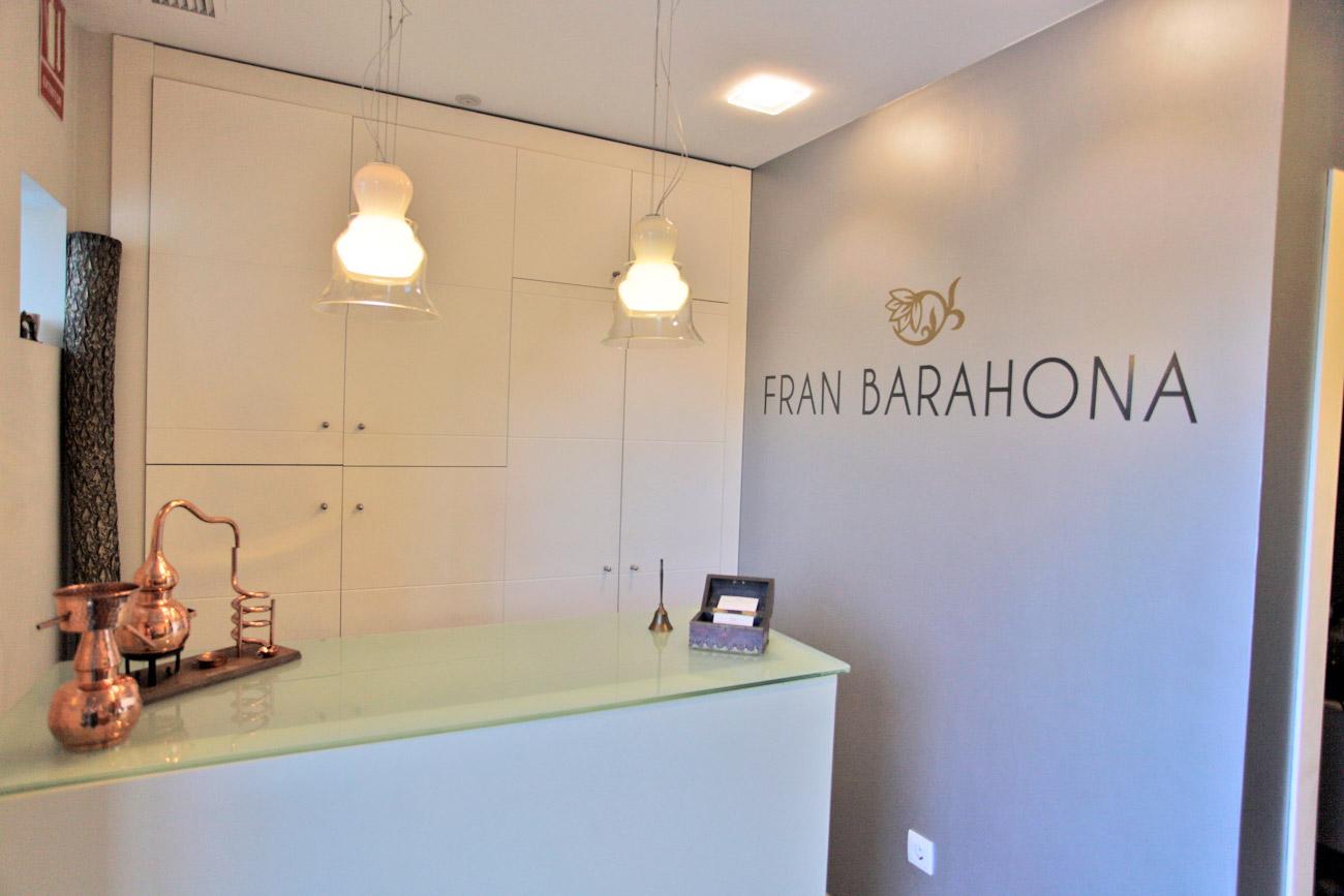 Recepción Centro Fran Barahona