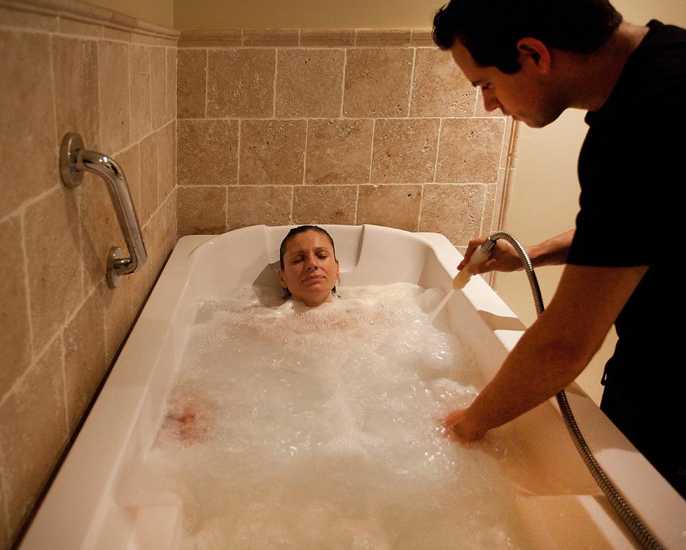 Bañera hidromasaje + tratamiento