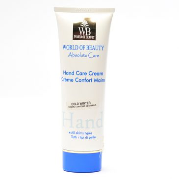 Crema de manos invierno de World of Beauty