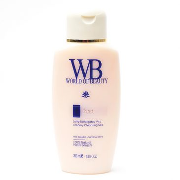 Leche limpiadora facial PURETE de World of Beauty