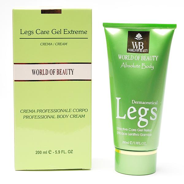 Legs Care Gel Extreme (piernas) de World of Beauty