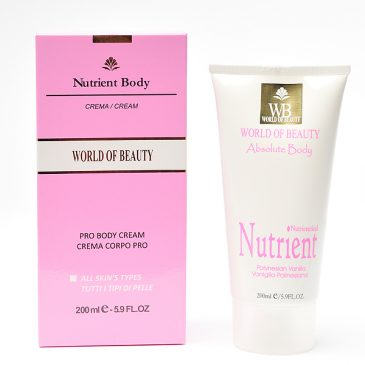 Crema antiestrías NUTRIENT BODY de World of Beauty