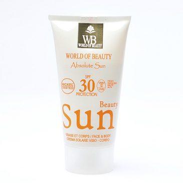 Protector solar SPF 30 de 150ml de World of Beauty