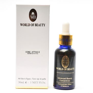 Serum Vitamina E pura de World of Beauty