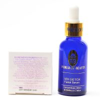 Serum Detox VDI (bolsas de ojos) ingredientes de World of Beauty